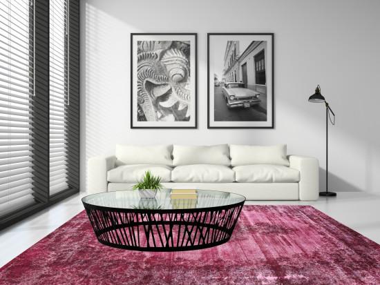 Tappeti Iraniani Vintage Overdyed 140 - Dimensioni 360x256 cm