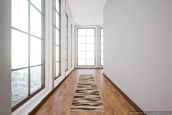 Corsia Kilim WAVE dimensione 75x185 cm