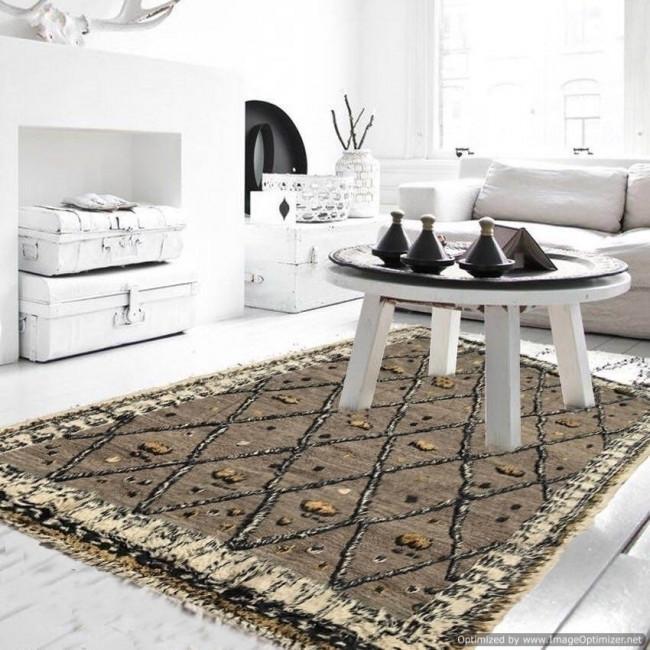 Tappeto berber morocco 23 dimensione 341x260 misscucci - Pulire divano tessuto bicarbonato ...