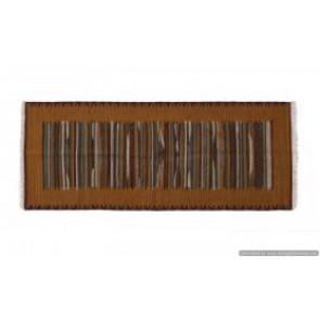 Tappeto Kilim 09FC55 fatto a mano, 128x185 cm