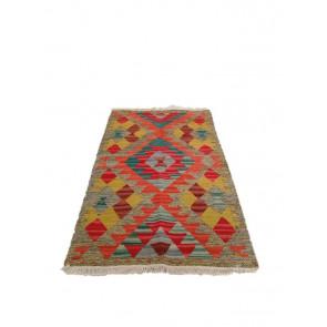 Tappeto Kilim Turkestan Orientale 128x185 cm 15-41