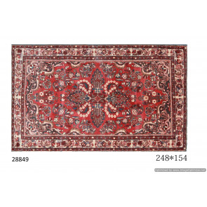 Tappeto Persiano Borchalou - Dimensioni 154x248 cm