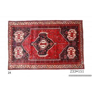 Tappeto Persiano Shiraz Kurdo - Dimensioni 233x151 cm
