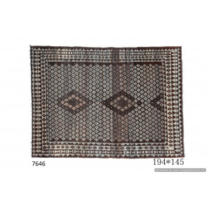 Tappeto Gabbeh Afgano Naturale Moderno 201x295 cm
