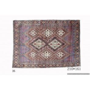Tappeto Persiano Afshari 161x210 cm