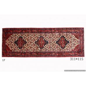 Tappeto Persiano Hamadan - Dimensioni 311x115 cm