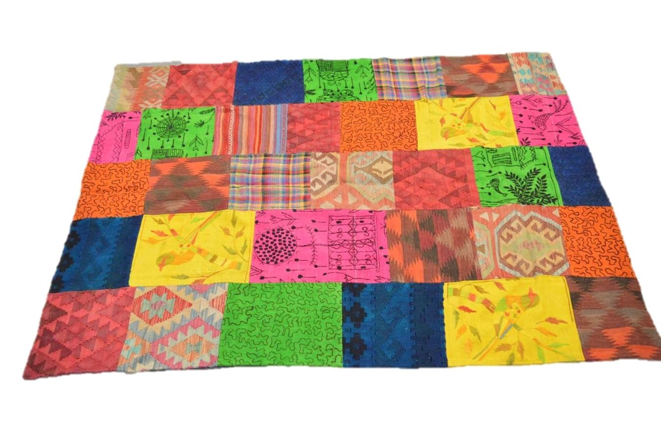 Tappeto Kilim Patchwork  10067 misura 234x170 cm cm cm | Up-to-date Styling  86d14e