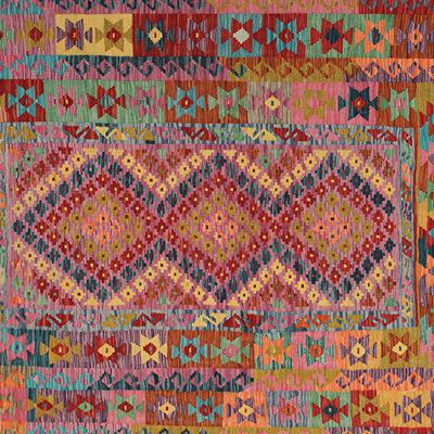 Kilim Afgani colorati