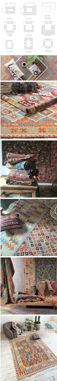 Ingombro del tappeti rispetto al tavolo da cucina o al letto